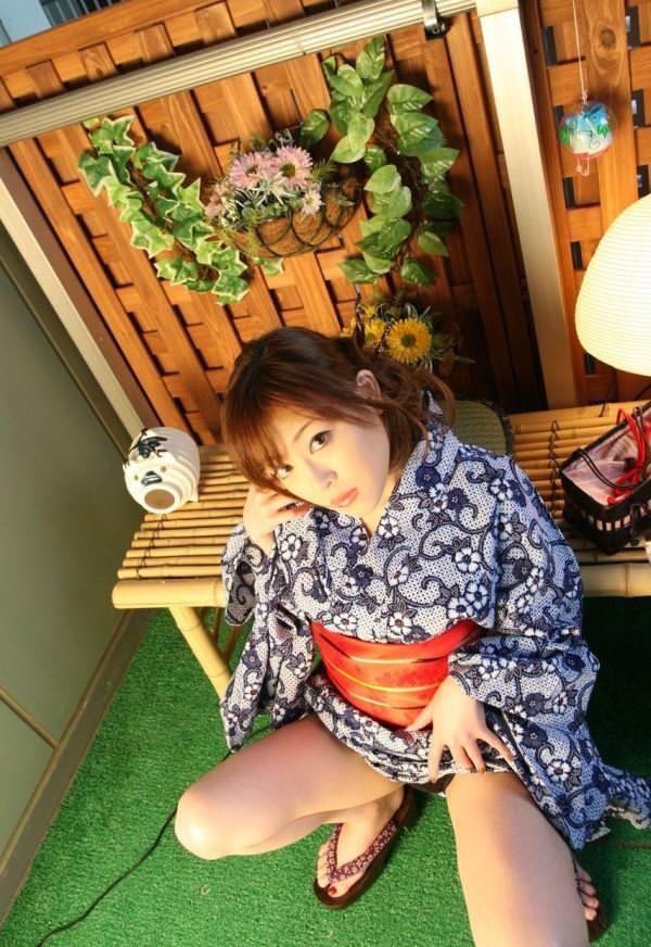 浴衣 エロ画像0019