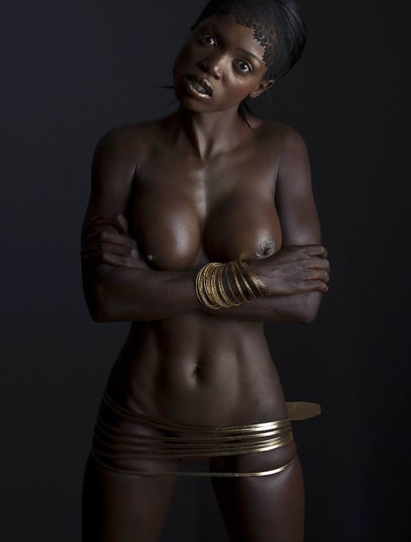 セクシーな黒人ヌード 37