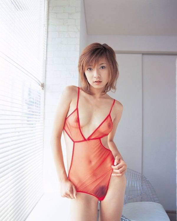 シースルー 透け乳首 画像 9