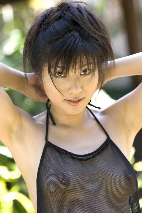 シースルー 透け乳首 画像 35