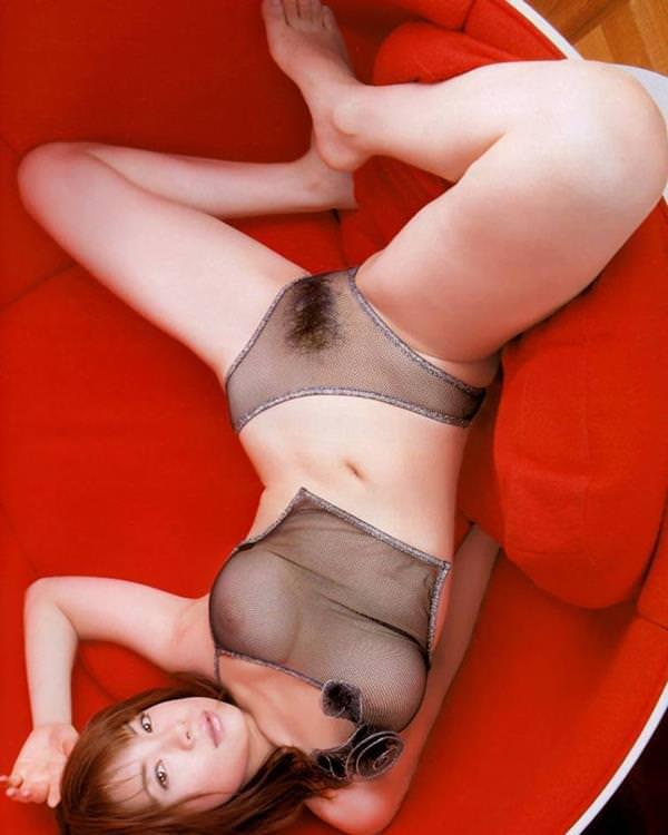 シースルー 透け乳首 画像 41