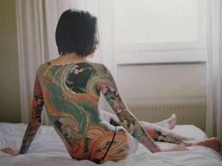 タトゥー外国人ヌード 5