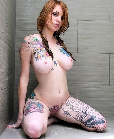 タトゥー外国人ヌード 47