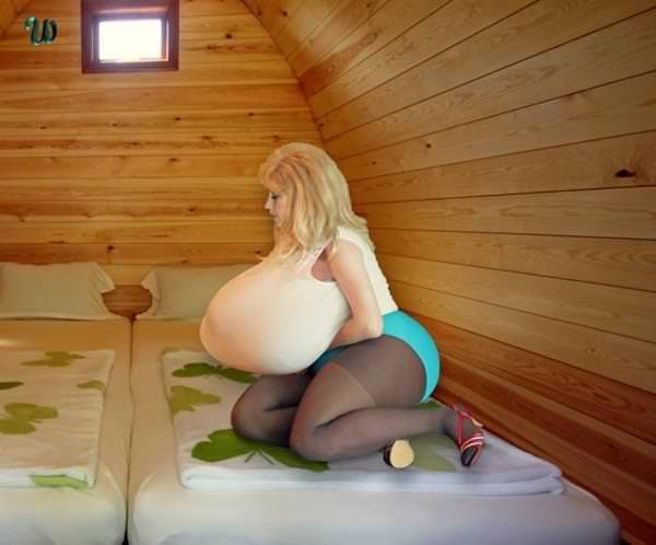 超乳の外国人女性 38