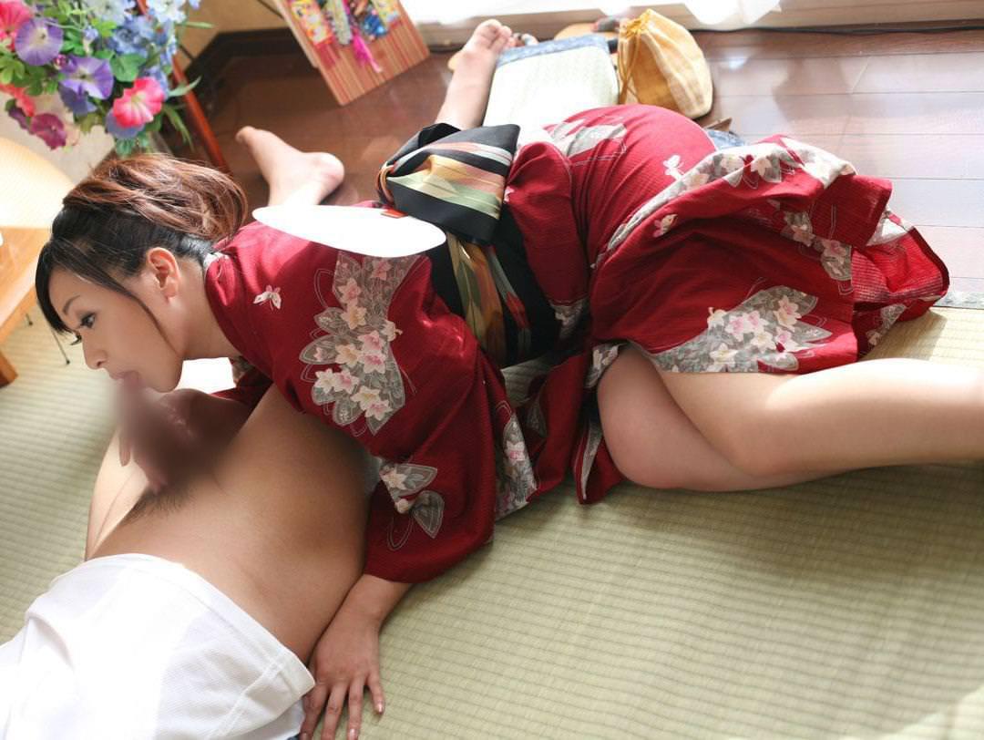 着物 着衣セックス 画像 18