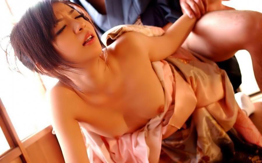 着物 着衣セックス 画像 24