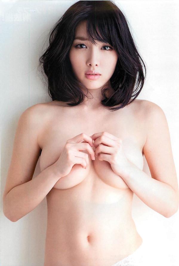 乳房がエロい爆乳の手ブラ 1