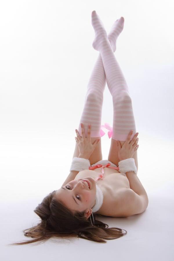 美脚の外国人美女 1