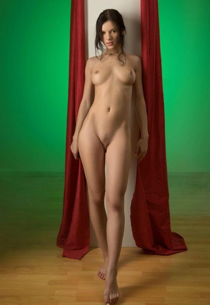 美脚の外国人美女 11