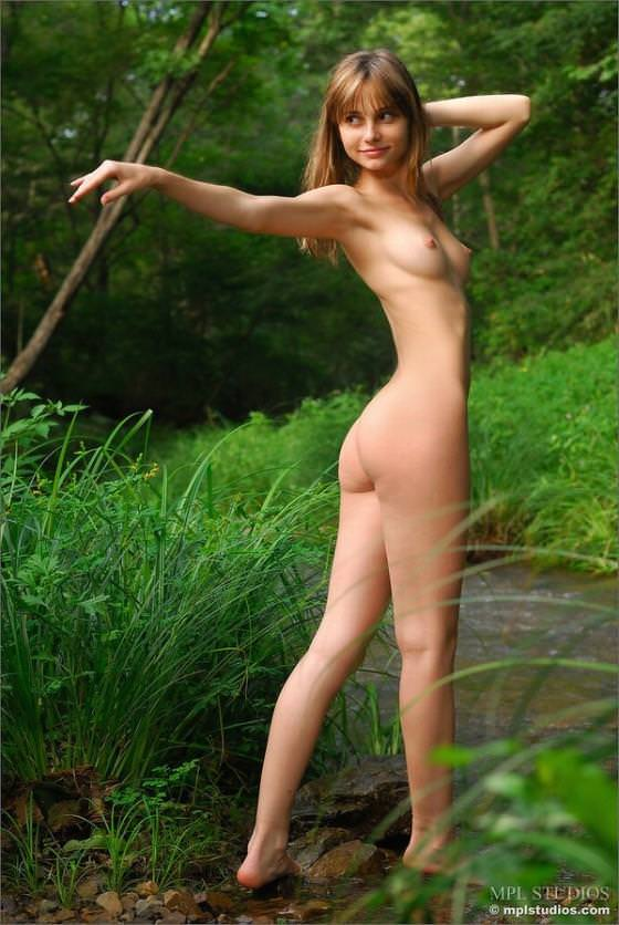 美脚の外国人美女 26