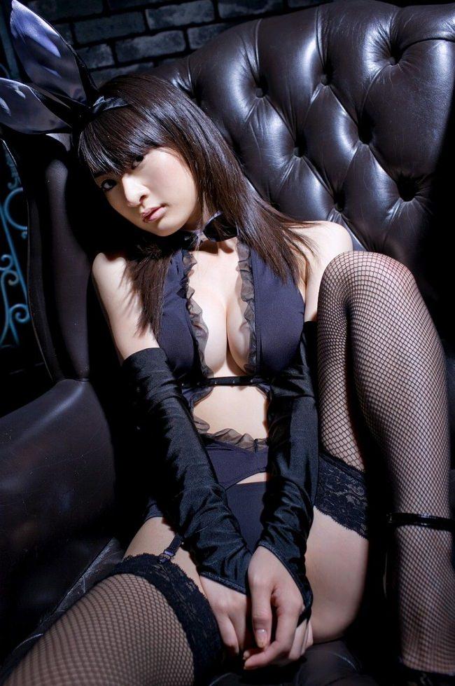 黒タイツバニーガール 6