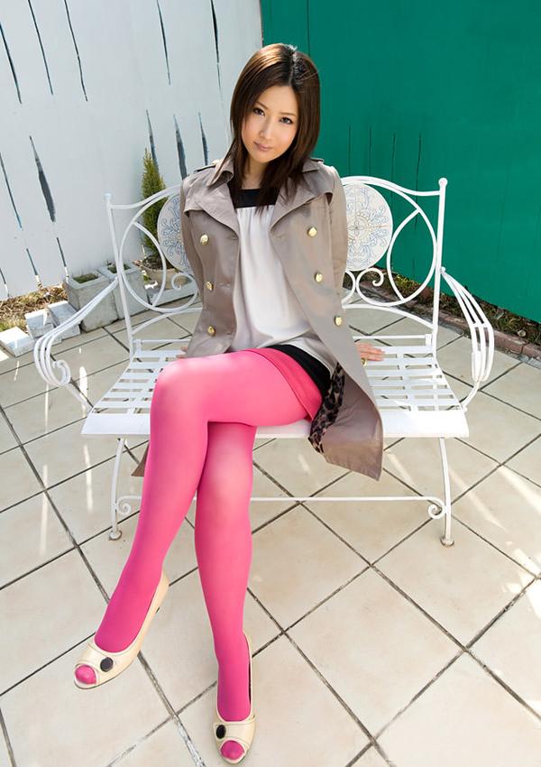 カラータイツを履いた女の子 16