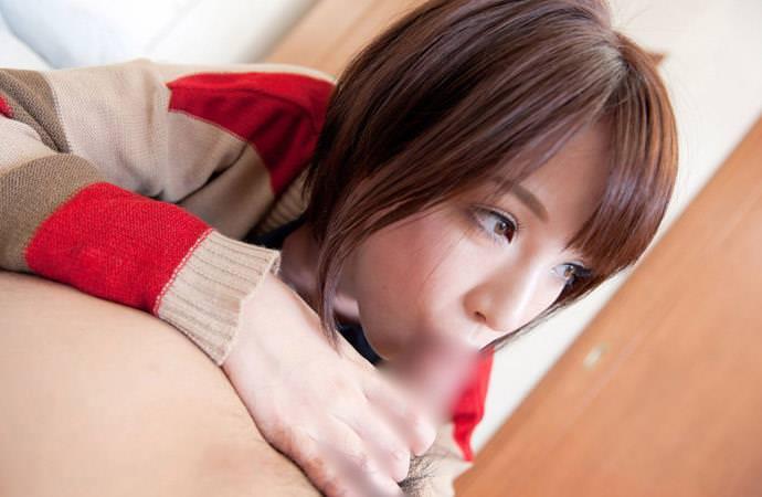 可愛いフェラ顔 6