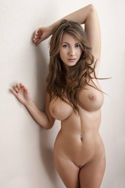 外国人の極小乳頭の爆乳おっぱい 49