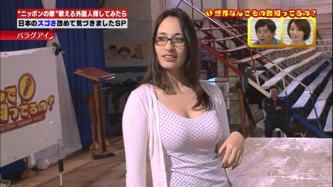 メガネ巨乳の外国人 2