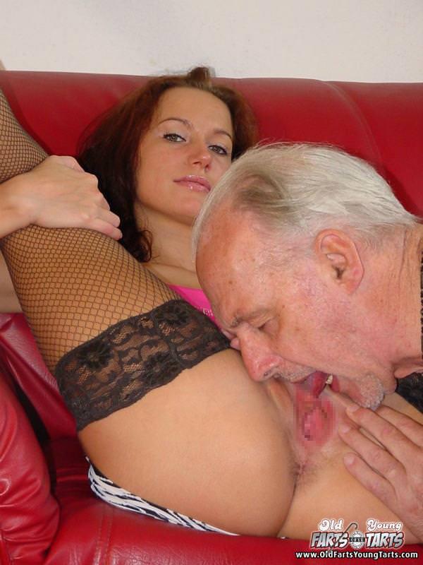 外国人美少女と老人のセックス 6