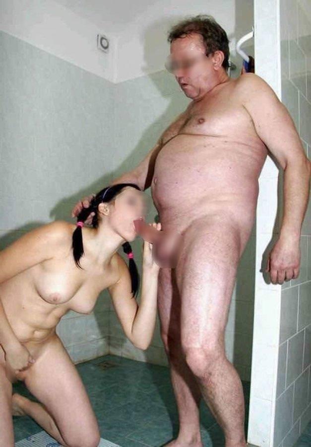 外国人美少女と老人のセックス 10