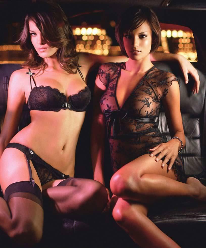 セクシーな外国人の下着モデル