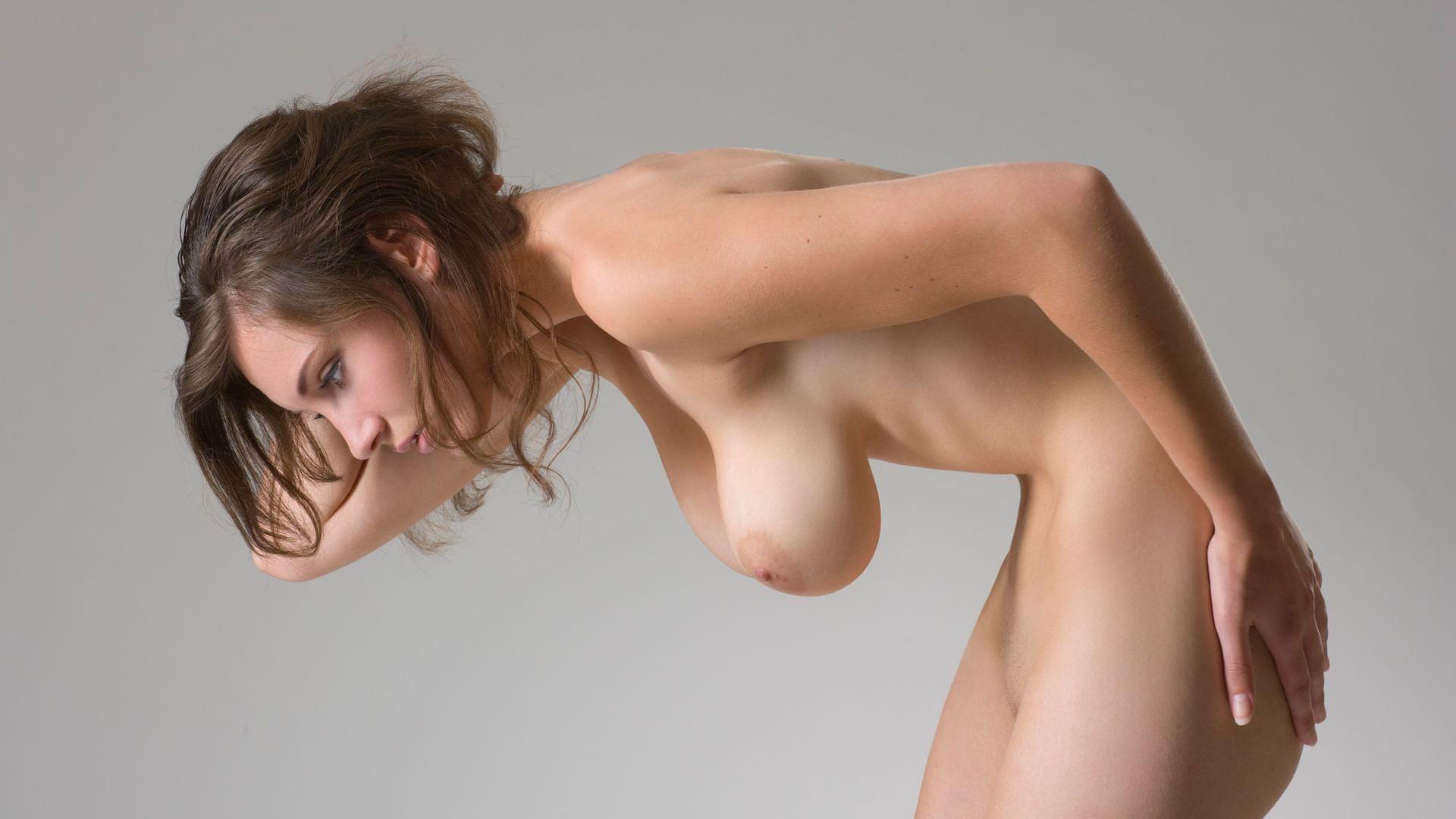 外国人の垂れ乳