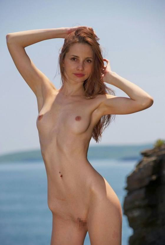 外国人美女のワキ 32