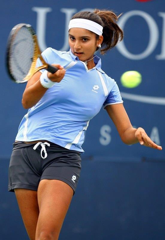 エロすぎる海外の女子テニスプレイヤー 10