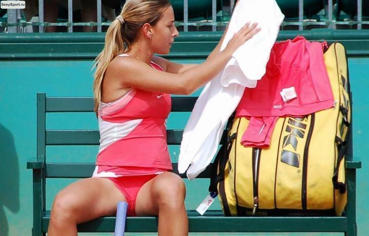エロすぎる海外の女子テニスプレイヤー 11