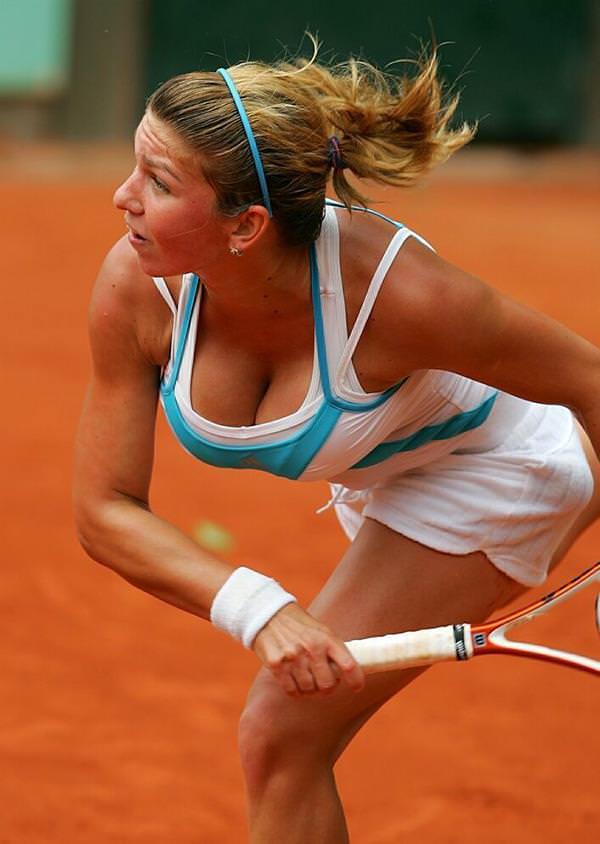 エロすぎる海外の女子テニスプレイヤー