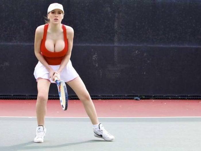 エロすぎる海外の女子テニスプレイヤー 14