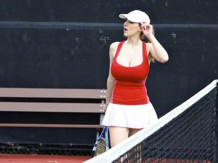 エロすぎる海外の女子テニスプレイヤー 15