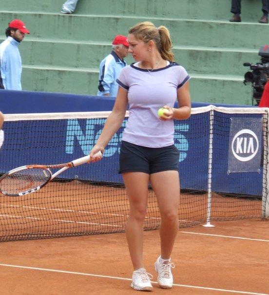 エロすぎる海外の女子テニスプレイヤー 19