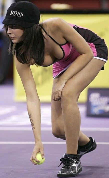 エロすぎる海外の女子テニスプレイヤー 23