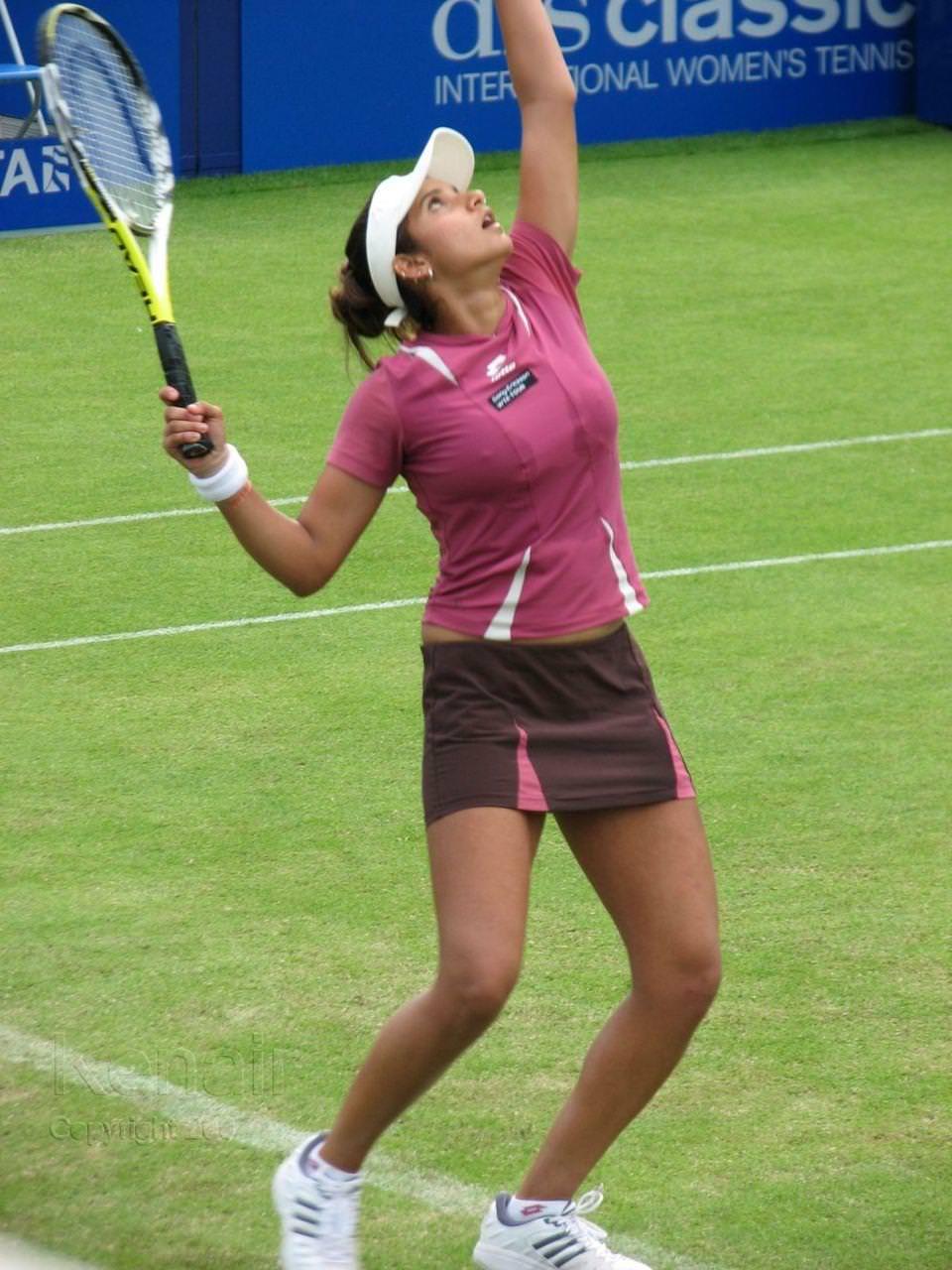 エロすぎる海外の女子テニスプレイヤー 25