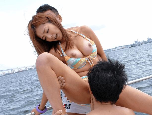 日焼けあとがエロい女の子とセックス 10