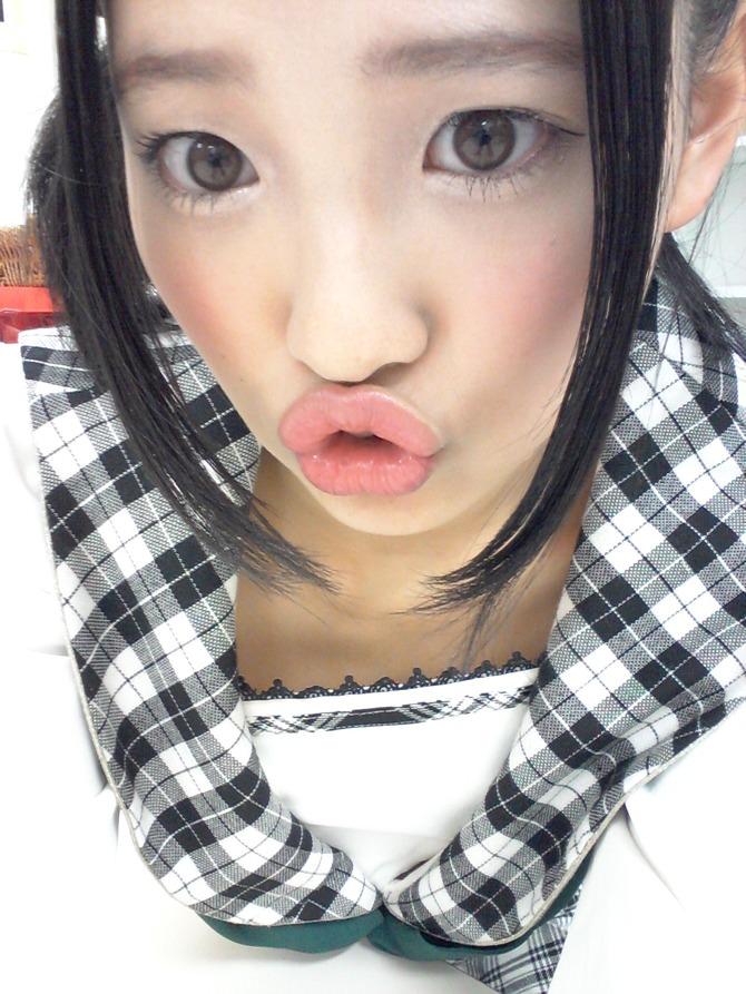 アイドルのキス顔 13