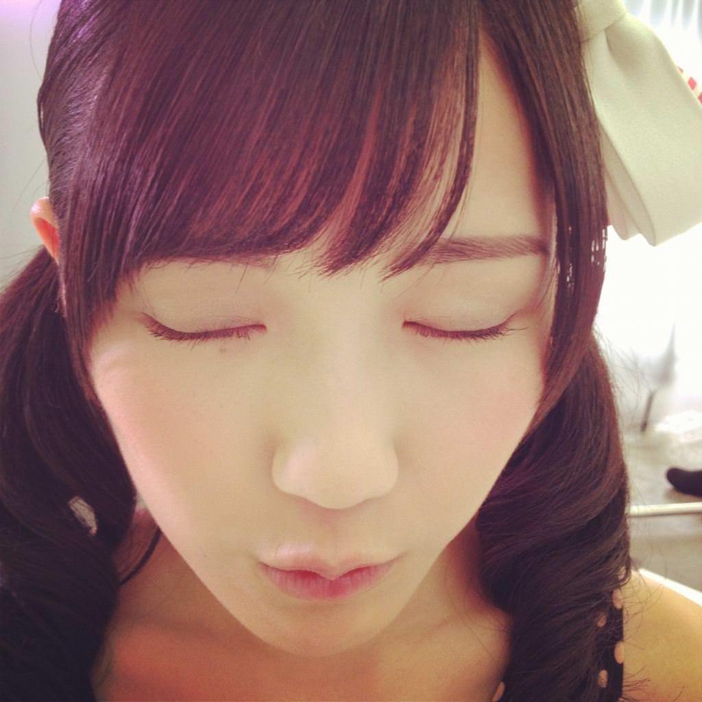 アイドルのキス顔 14