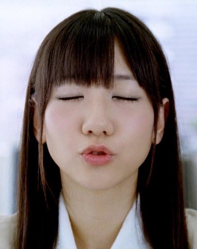 アイドルのキス顔 17