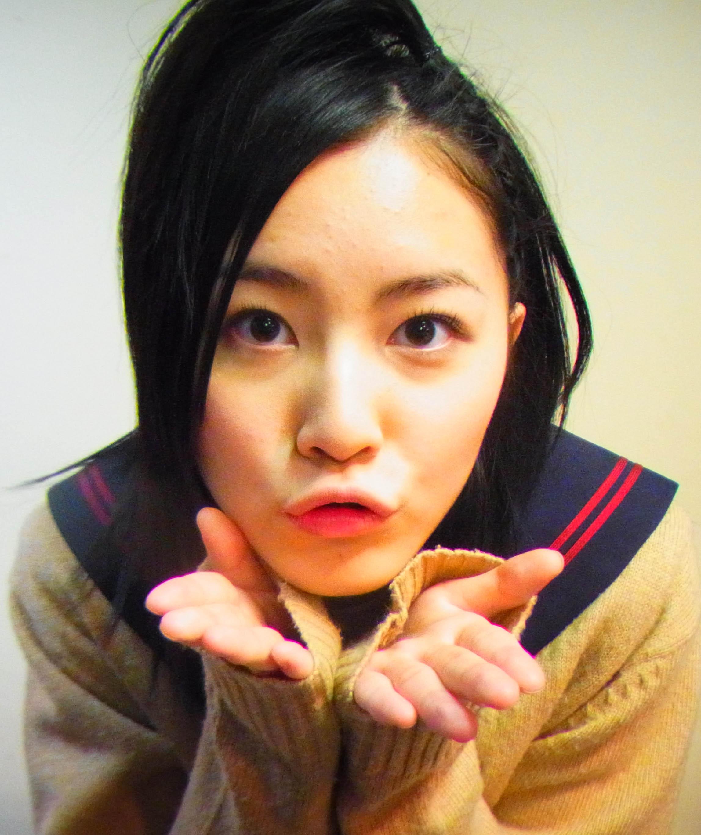 アイドルのキス顔 26