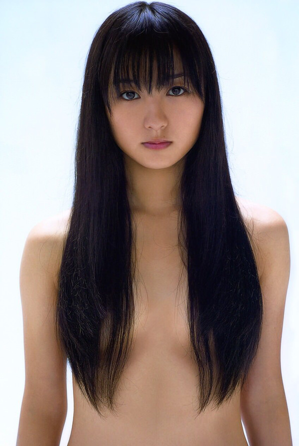 髪の毛でおっぱい隠してる髪ブラ 6