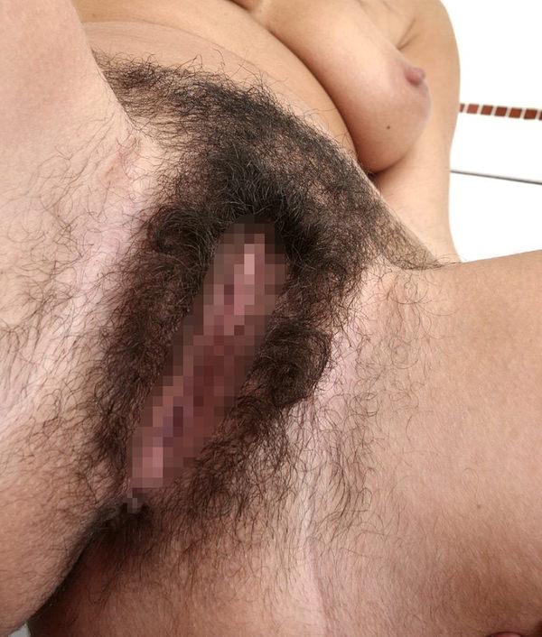 ケツ毛がびっしり生えてるアナル 9