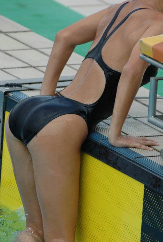 競泳水着のお尻 5