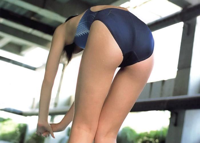 競泳水着のお尻 40