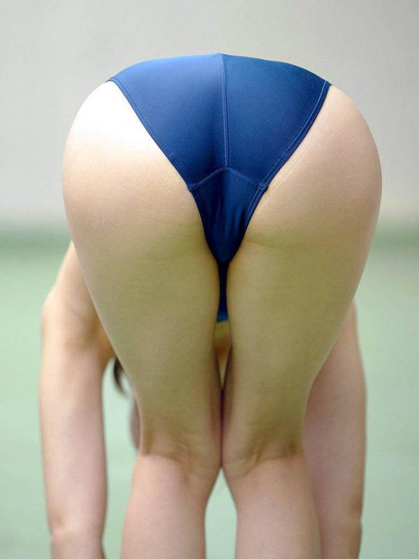 競泳水着のお尻 6