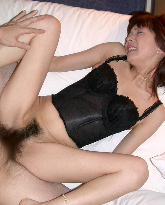 セクシーランジェリー着衣セックス 9