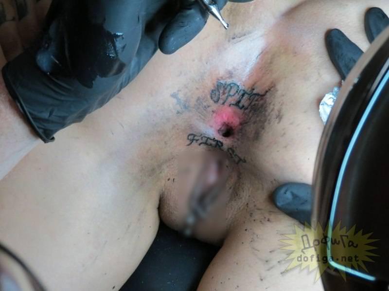 マンコやアナルにタトゥー刺れてる外国人女性 6