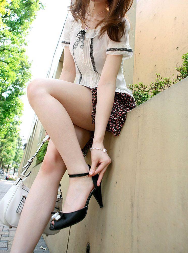 エロい生脚の女の子 9