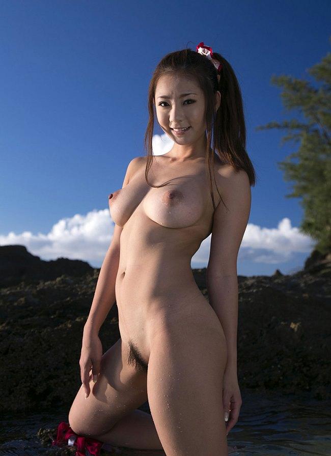 自然ヌード 10