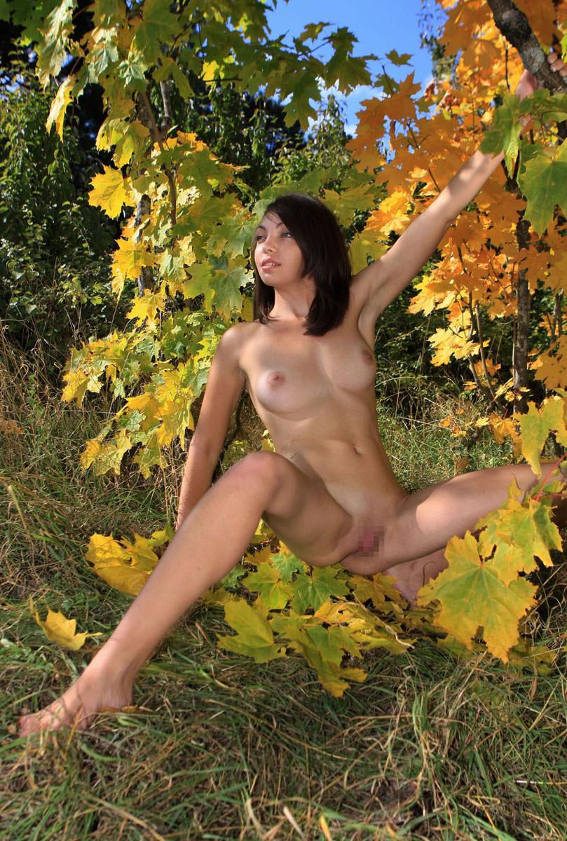 自然ヌード 14