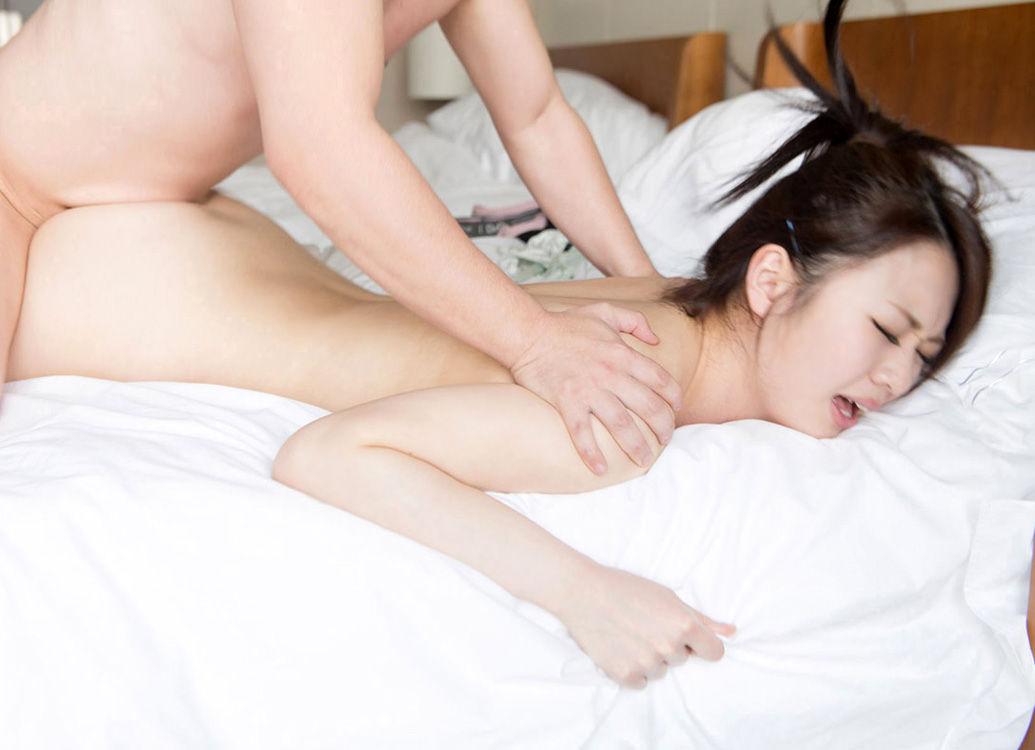 膣イキしやすい寝バック 16