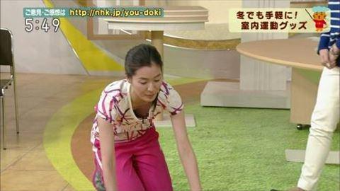 【放送事故】NHK「ゆうどき」女性レポーターの乳首が映ってしまった…(※画像あり)