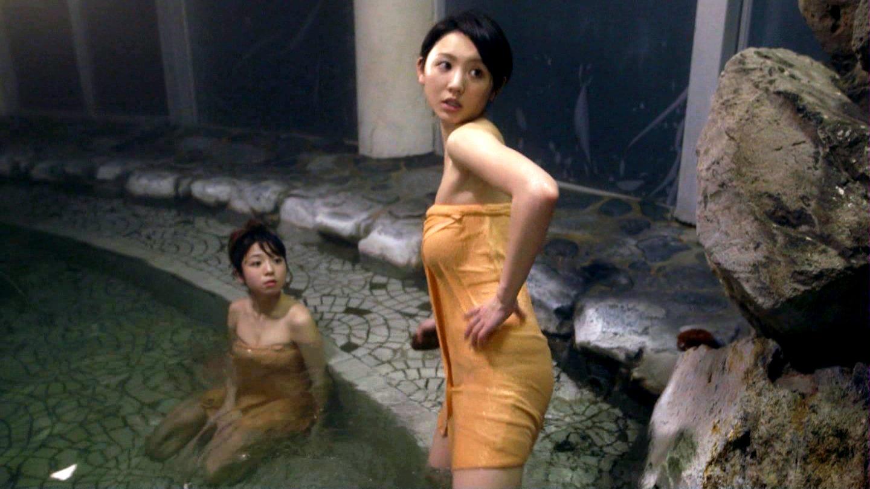 【エロ画像】おのののかの温泉入浴シーンが抜ける